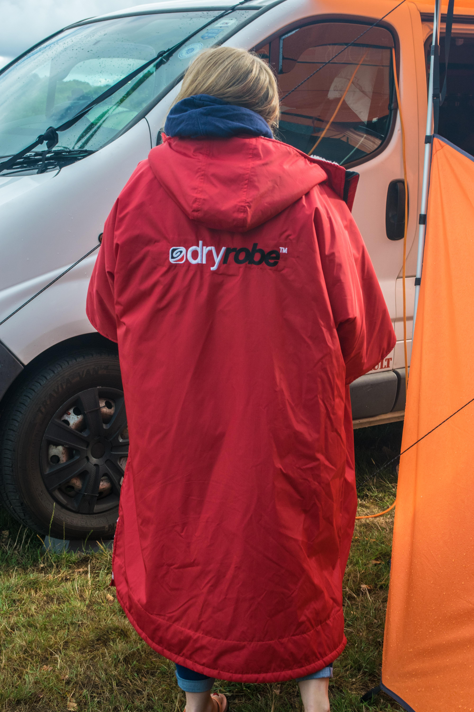 dryrobe camping campervan