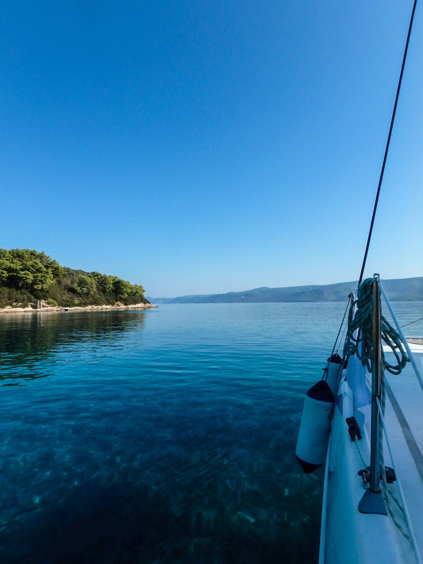 visit croatia for clear blue water