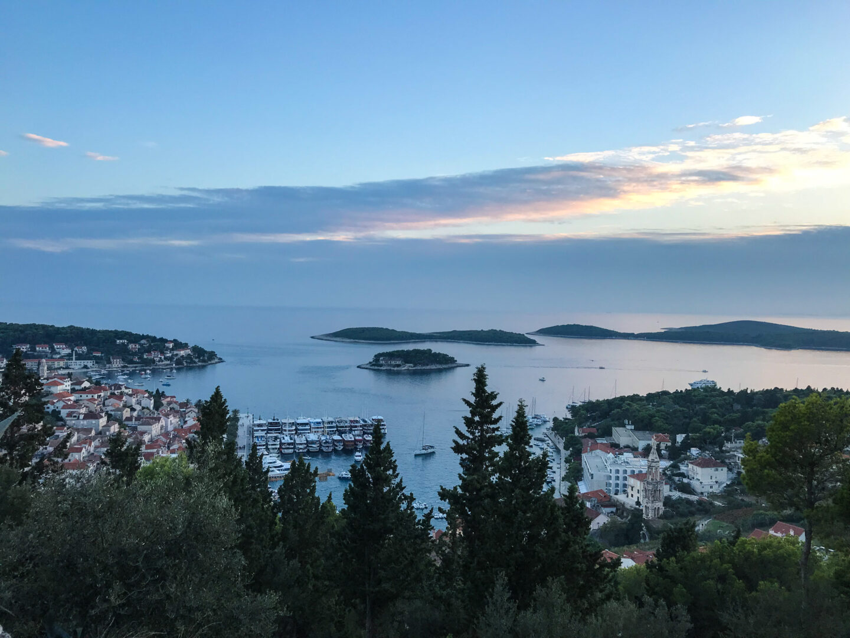 visit croatia for beautiful views over Hvar