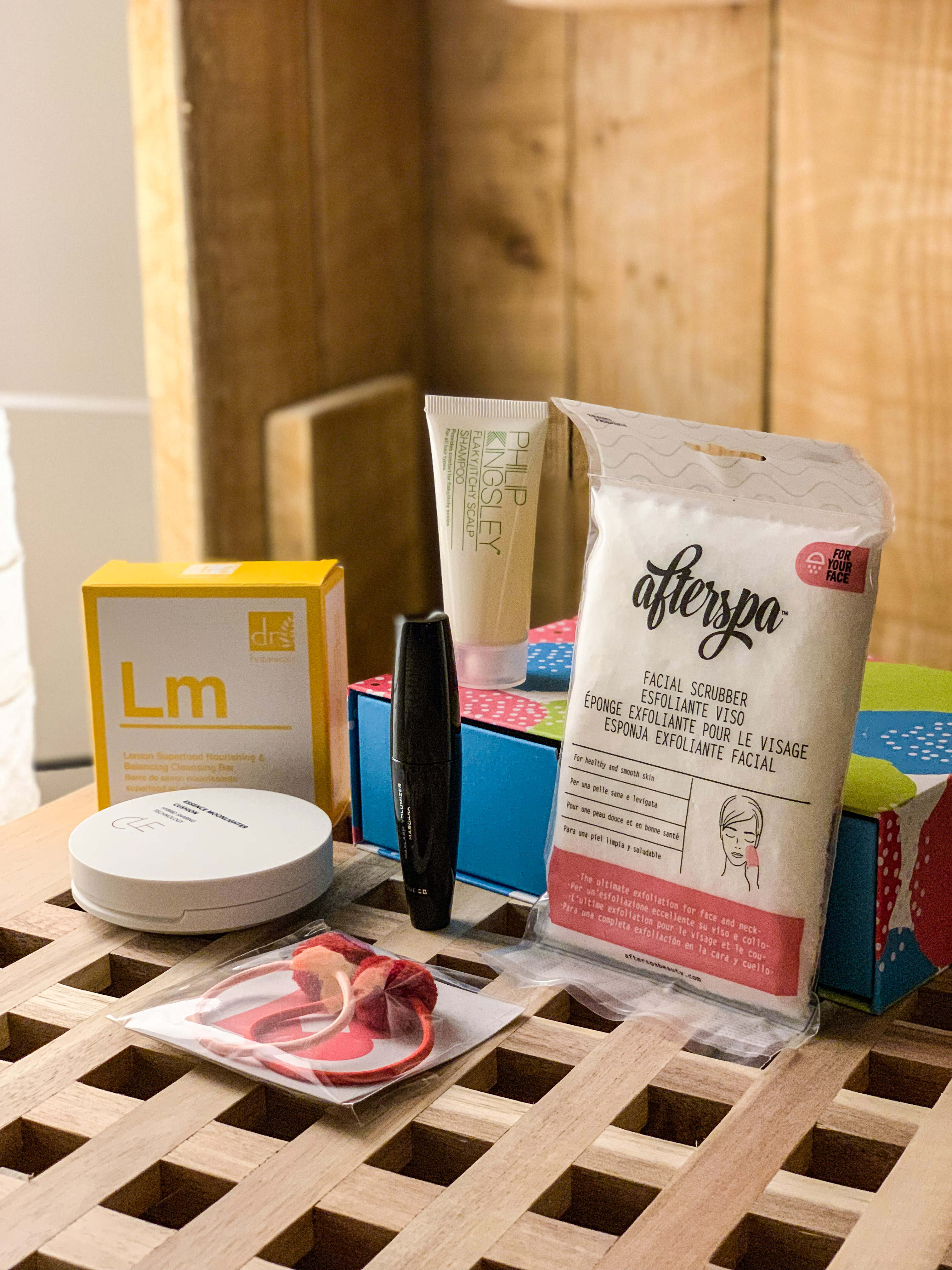 beauty products from birchbox
