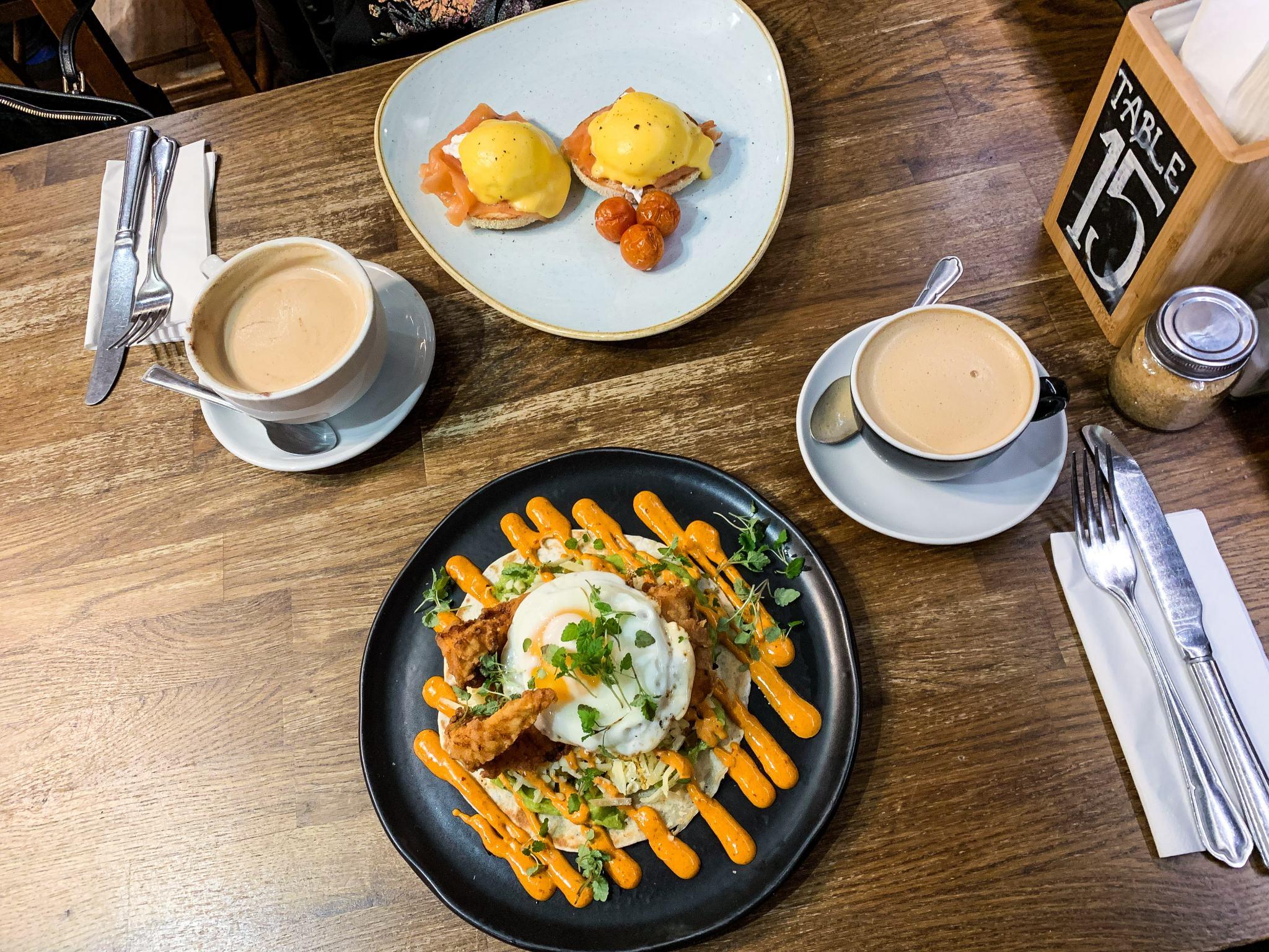 brunch at josie's - breakfasts in hampshire