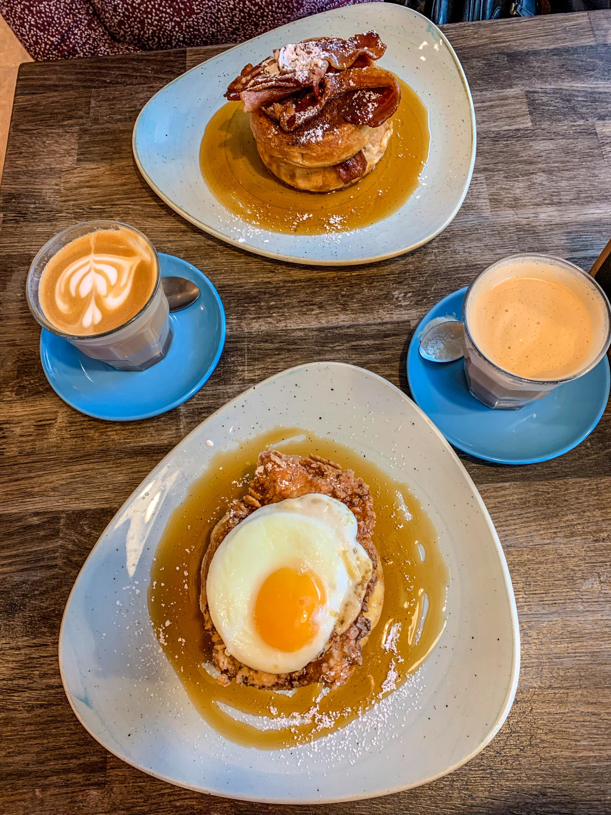 pancakes and coffee - breakfasts in hampshire
