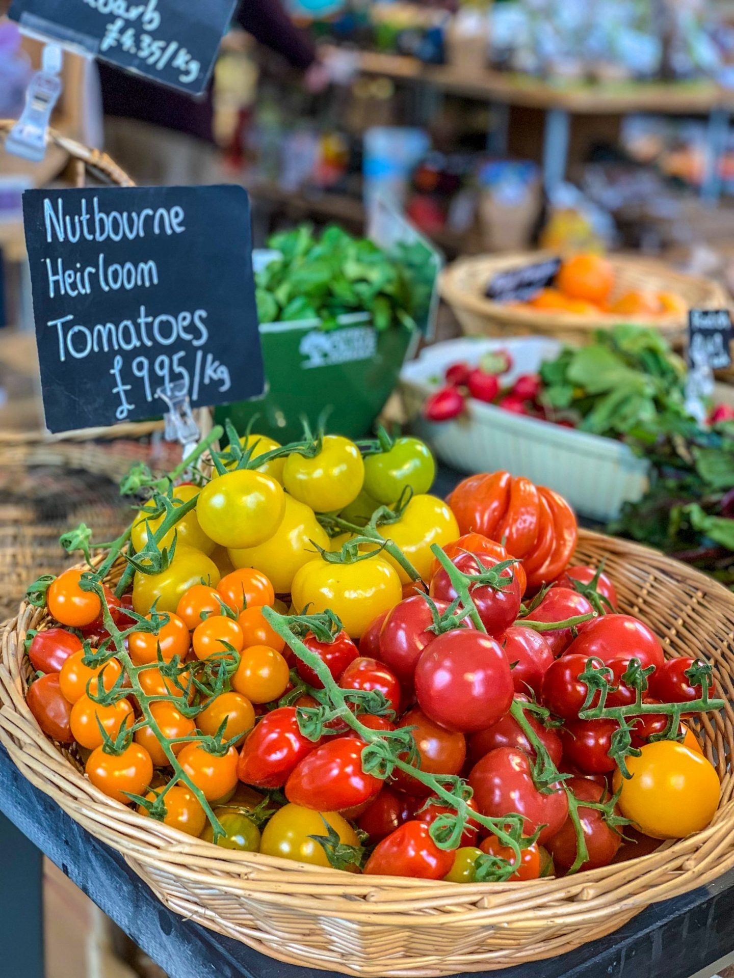 local tomatoes farm shop