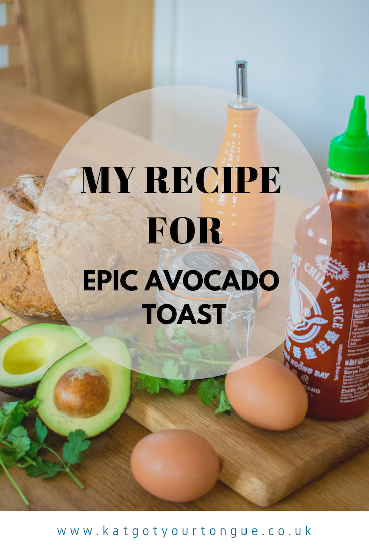 recipe for epic avocado toast