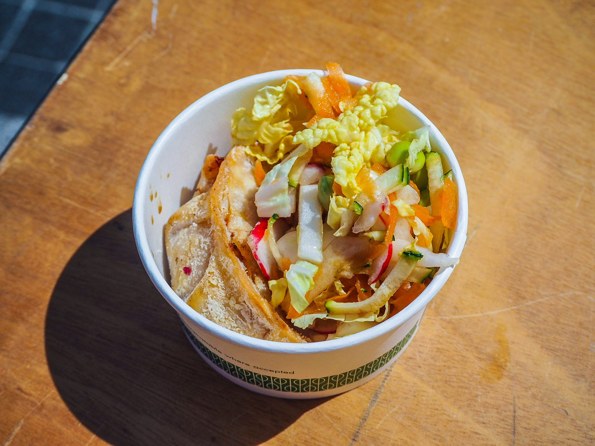 dumpling at british street food awards
