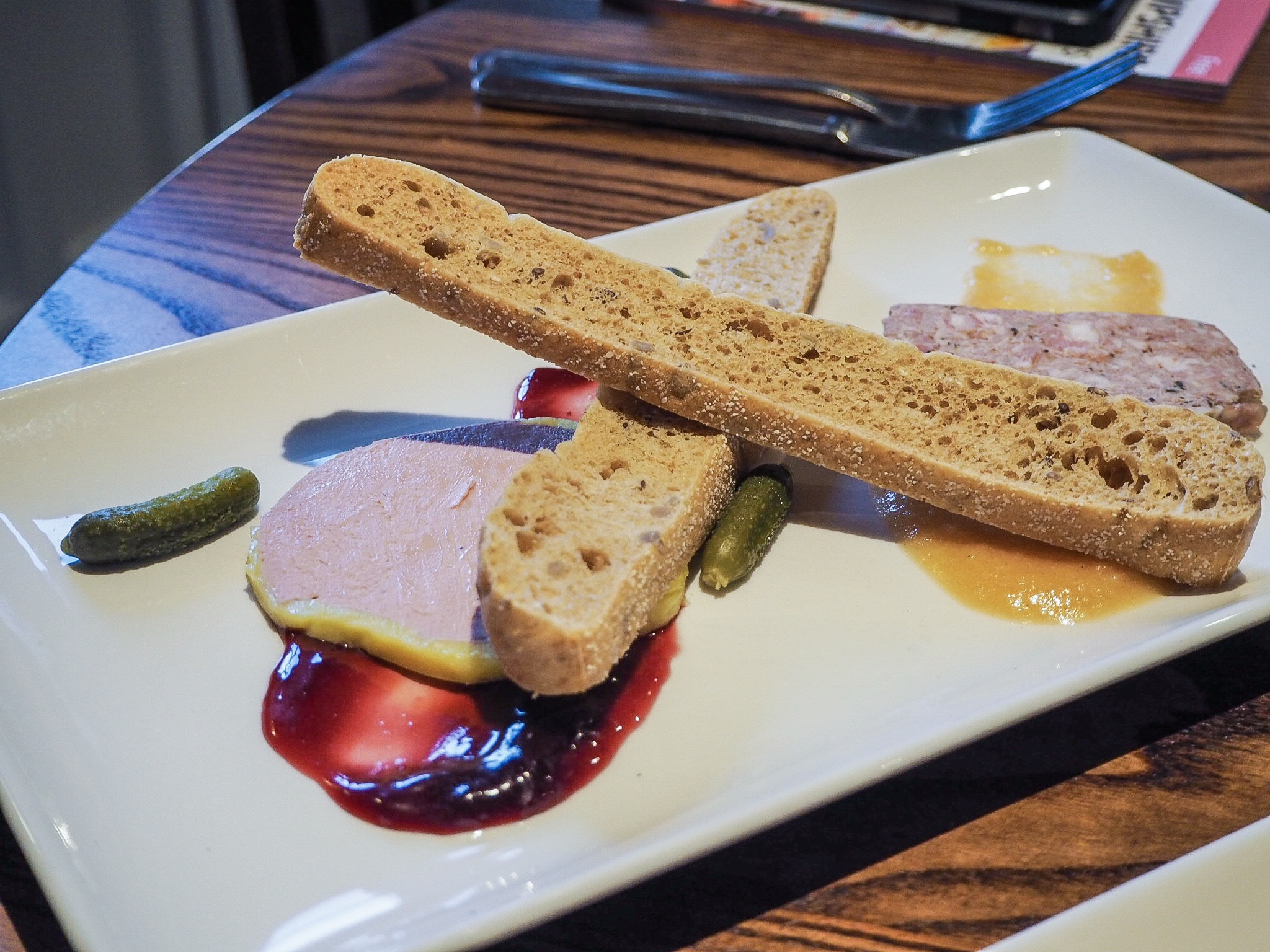 pork and duck liver pate