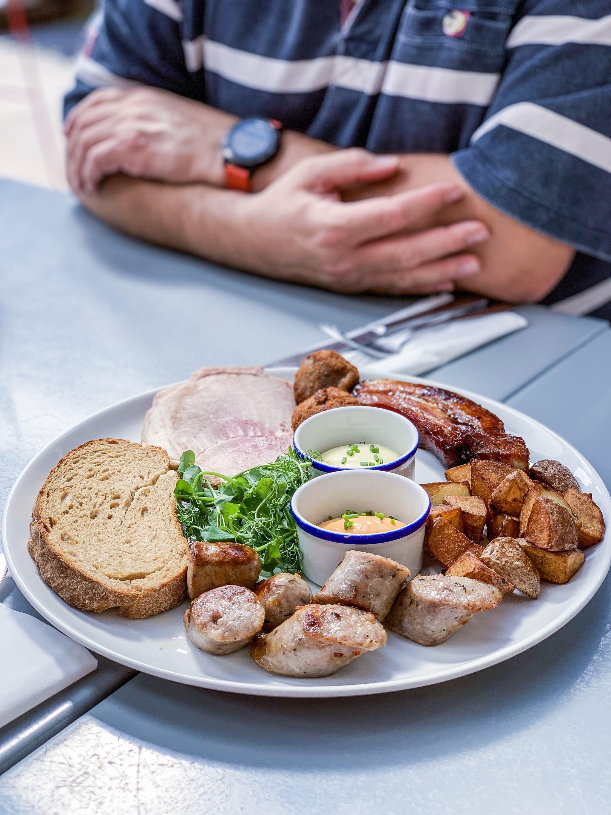 Meat platter at The Huntsman of Brockenhurst