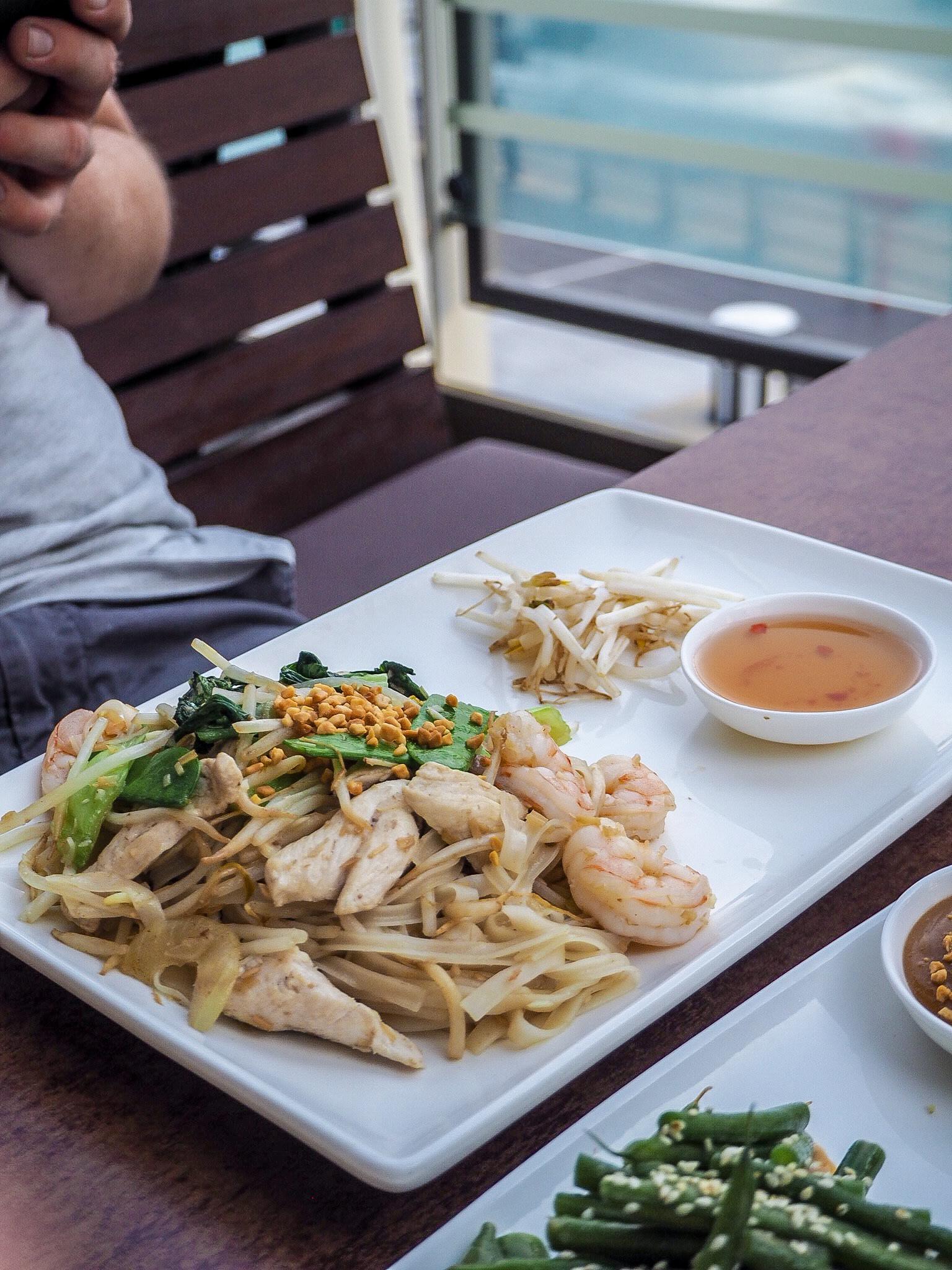 vietnamese wok fried noodles