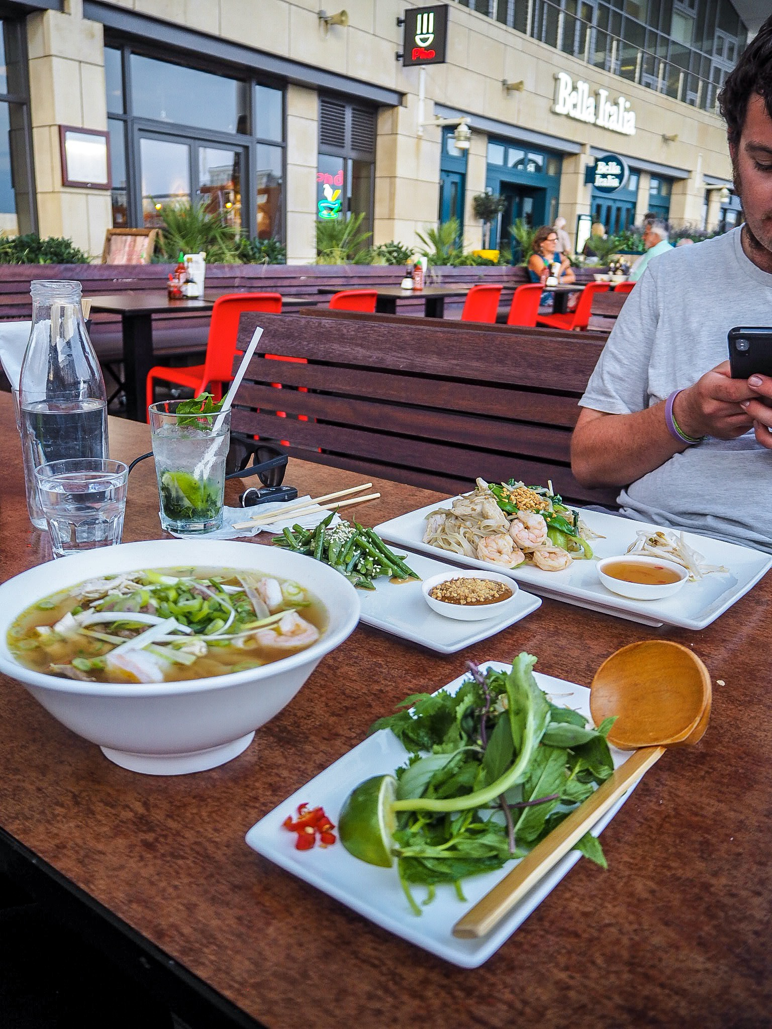 vietnamese street food at pho portsmouth