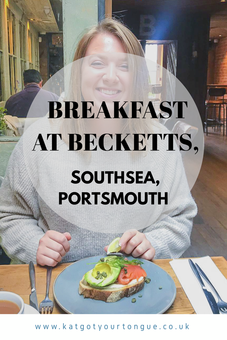 Breakfast at Becketts, Southsea - Portsmouth