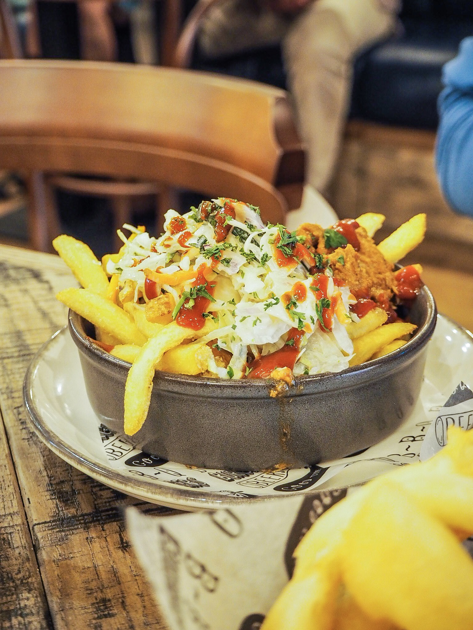 loaded fries at hubbox portsmouth