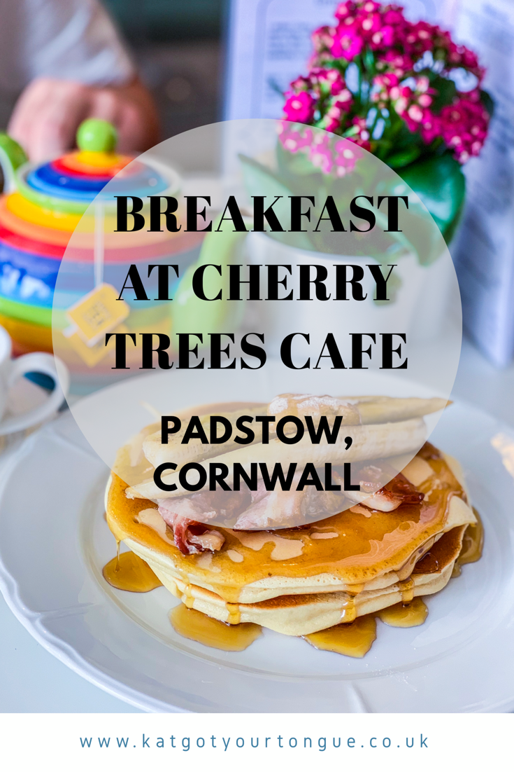 Breakfast at Cherry Trees Cafe, Padstow - Cornwall