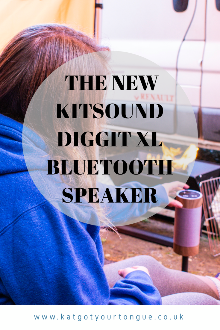 Introducing the new KitSound Diggit XL Bluetooth Outdoor Speaker
