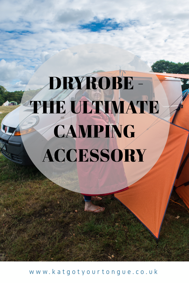 Dryrobe - the Ultimate Camping Accessory