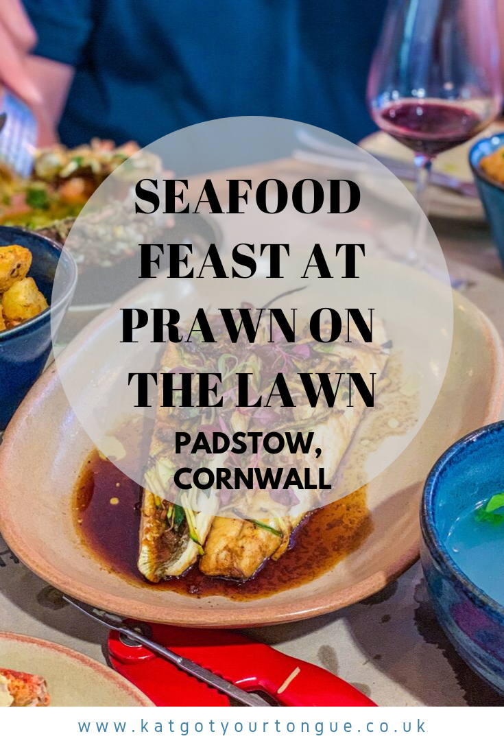 Seafood Feast at Prawn on the Lawn, Padstow - Cornwall