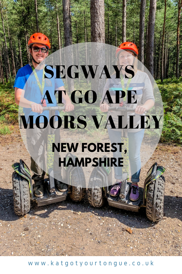 Segways at Go Ape Moors Valley, New Forest - Hampshire