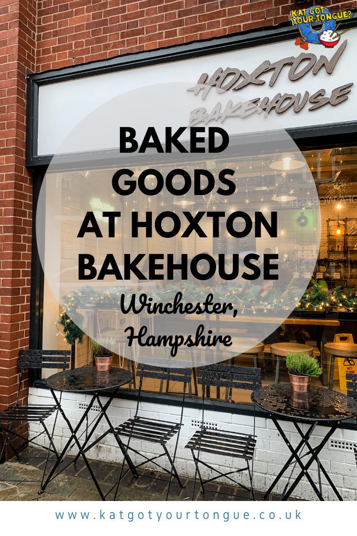 Baked Goods at Hoxton Bakehouse, Winchester, Hampshire