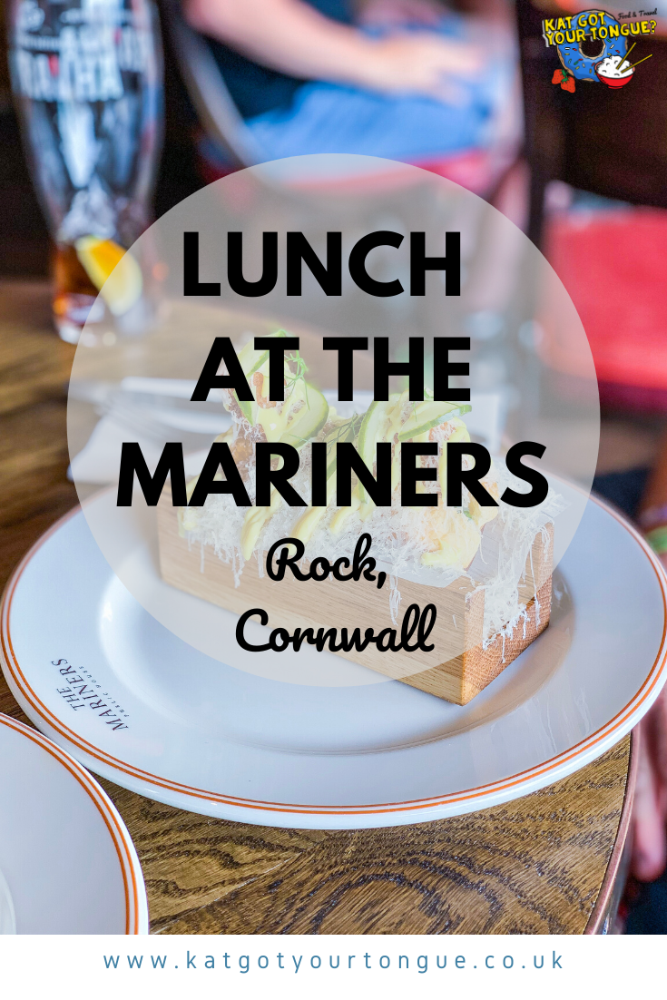 Lunch at The Mariners, Rock, Cornwall