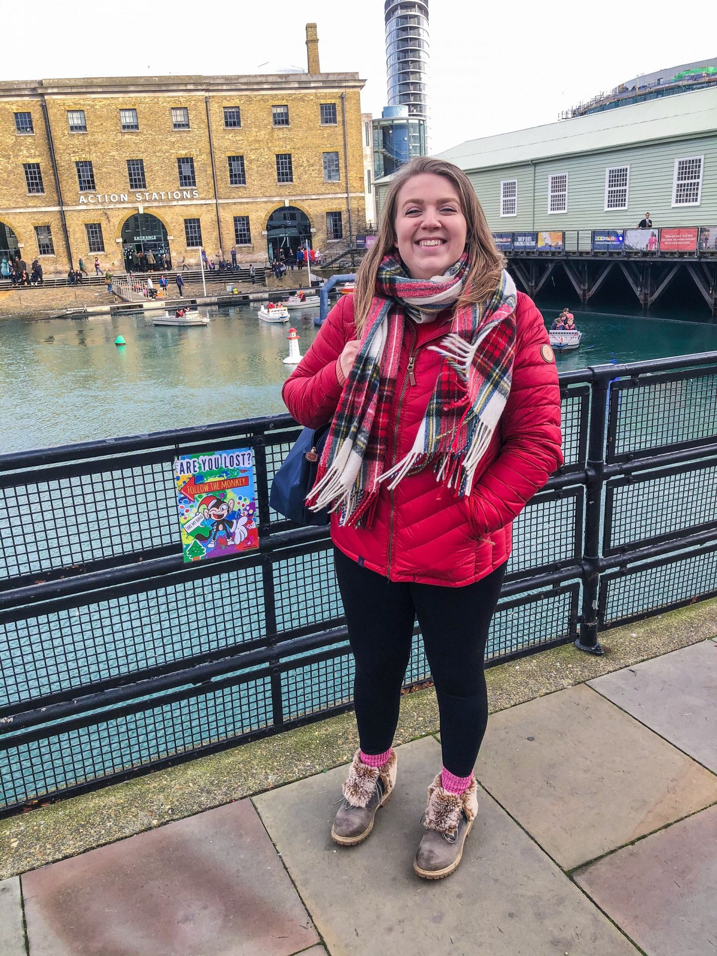 visiting Victorian Festival of Christmas at Portsmouth Historic Dockyard