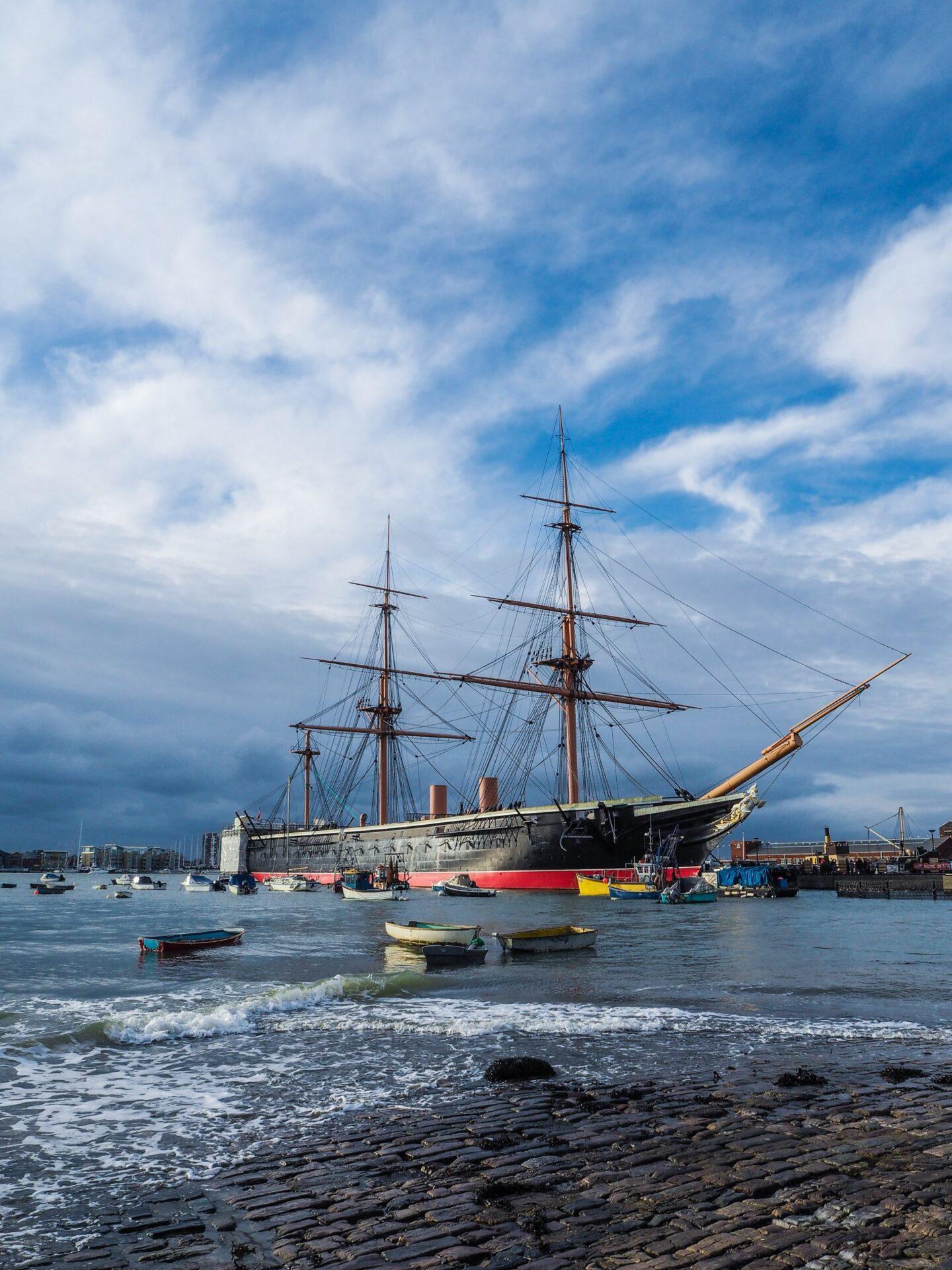 HMS Warrior - Victorian Festival of Christmas at Portsmouth Historic Dockyard